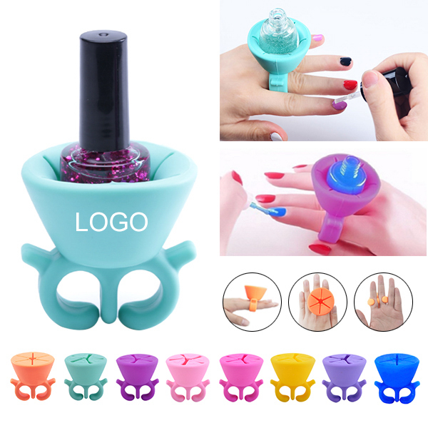 Silicone Nail Polish Bottle Holder